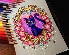 Trendy Tattoo Moon Old School Cherry Blossoms 29 Ideas Body Art Tattoos, Cool Tattoos, Luna And Artemis, Arte Sailor Moon, Kawaii Tattoo, White Gel Pen, Desenho Tattoo, Sailor Moon Crystal, Color Pencil Art