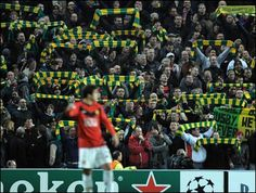 Manchester united - green and yellow