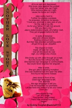 Beautiful Poster poem about ups and downs in love and relationship.