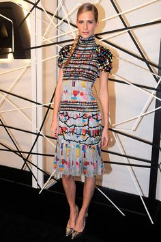 11.10.14  Poppy Delevingne, in Chanel F14 (Look 38), at Museum of Modern Art Film Benefit in honour of Alfonso Cuaron