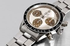 Rolex Daytona Paul Newman 6263 tropical Coffee - 3