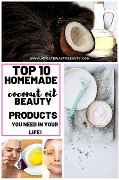 7 Skin Care Tips For Natural Glowing Skin - Womens Skincare Natural Homemade Facial Mask, Homemade Skin Care, Beauty Products You Need, Homemade Beauty Products, Homemade Coconut Oil, Coconut Oil Beauty, Skincare Blog, Skincare Routine, Acne Oil