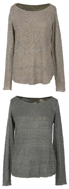 You're in love with sweater!! It's thin which is perfect for spring and fall. Simple style makes simple fashion. This top can do that for you. Put it on and enjoy this fall at Cupshe.com