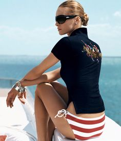 Luxurious living on a yacht off the Hamptons or Newport Miami or Hilton Head wherever the money is she'll go