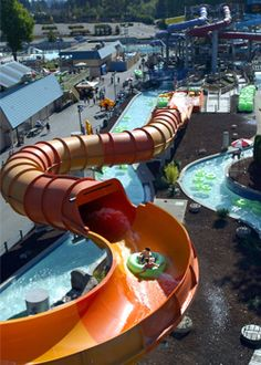 Wild Waves. Federal Way, Washington.     Brilliant theme park in Washington that has water slides, big wave pools, and the enchanted forest.