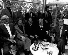 Luis Buñuel,George Cukor,Alfred Hitchcock,Rouben Maomulian,George Stevens,William Wyler,Robert Wise,Billy Wilder,Serge Silberman y Jean Claude Carriere