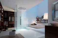 Perfect arrangement and shower!
