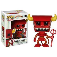 Futurama POP Robot Devil Vinyl Figure