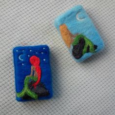 Felt soap  Denizkızı keçe sabun kese sabun soap pouch Felted Flowers, Fabric Flowers, Felted Soap, Home Made Soap, Small Flowers, Bar Soap, Felt Crafts, Needle Felting, Underwater