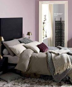 Room colours - mauve Master Bedroom, Home, Bedroom Inspirations, Country Style Bedroom, Home Bedroom, Purple Bedrooms, New Room, Room Makeover, Bedroom Colors