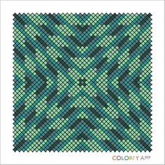 Lullaby Bargello Patterns, Bargello Needlepoint, Mandala Pattern, Graph Paper Drawings, Graph Paper Art, Bead Loom Patterns, Beading Patterns, Crochet Bedspread Pattern, Geometric Quilt