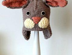 Knitted little duck One Duck, Bunny Hat, Little Duck, Acrylic Wool, Baby Safe, Black Wool, Baby Kids, Cookie, Heaven
