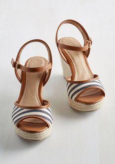Pier-fect Form Wedge | Mod Retro Vintage Heels | ModCloth.com