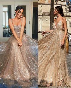 52 Evening Dresses, prom dress, Couture Ideas This Year - Alexa Fashion Idea Prom Outfits, Grad Dresses, Ball Dresses, Evening Dresses, Formal Dresses, Sparkly Prom Dresses, Elegant Dresses, Sexy Dresses, Summer Dresses