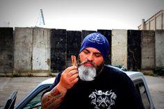 """DYSTROY T-Shirt """"Treasurer""""  Model: Bülent Kirtas"""