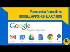 Google Apps for Education: panoramica generale (by DesignDidattico) - YouTube