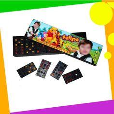 Personalizamos o jogo de dominó com o seu tema, personagem ou foto !    Não perca tempo, entre em contato e faça já sua lembrancinha.    Nosso prazo de entrega é de apenas 2 dias após aprovação. R$ 2,50