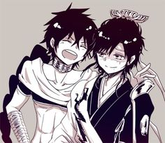 Hakuryuu and judal ^^