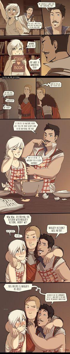 DAI_the naughty cook book by schl4fmuetze on DeviantArt