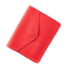 Gap Leather Envelope Clutch - pink vibration