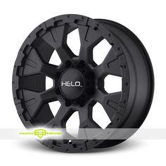 Helo HE878 Black Wheels For Sale - For more info: http://www.wheelhero.com/customwheels/Helo/HE878-Black