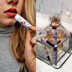 Czerwona matowa szminka DIY