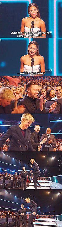 Funny Ellen Lee DeGeneres: She wants the award so badly.