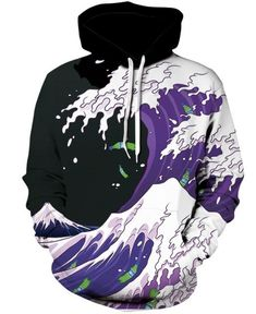 627a13e73d02 Men s hoodie autumn winter thin hooded sweatshirt 3D printing trees pocket  drawstring unisex fashionable man pullovers hoodies