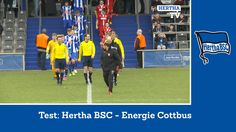 Test Hertha BSC - Energie Cottbus - Highlights - Berlin - Zusammenfassun...