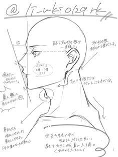 Anatomy Sketches, Anatomy Drawing, Art Sketches, Digital Painting Tutorials, Digital Art Tutorial, Drawing Reference Poses, Anatomy Reference, Drawing Lessons, Drawing Tips