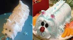 Westie-dog-cake-by-Creations-by-Paula-Jane-Cakes-left-and-from-Pinterest-right.jpg (613×336)