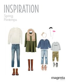 FAMILY PHOTO SESSION - Springtime outfits // SÉANCE PHOTO FAMILLE - Vêtements pour le printemps