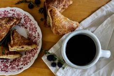 Blueberry Thyme Turnovers - Binks & the Bad Housewife