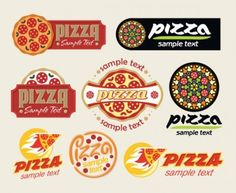 The cartoon pizza01vector Vector cartoon - Free vector for free download