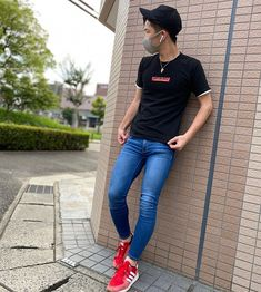 Best Mens Fashion, New Fashion Trends, Super Skinny Jeans, Skinny Pants, Superenge Jeans, Slim Pants, What To Wear, Street Wear, Sign