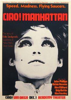 Ciao! Manhattan #movie #poster (1972)