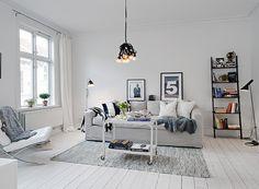 Swedish Interiors by Alvhem Makleri via Happy Interior Blog