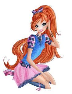 Bloom School season 7 Fairy Couture - Winx Club by InesWinxEditions on DeviantArt Bloom Winx Club, Six Girl, Les Winx, Barbie Images, Good Poses, Season 7, Fantasy, Fashion Art, Pop Culture