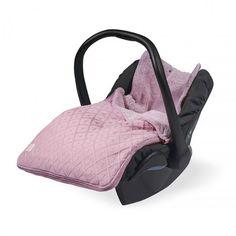 Jollein voetenzak *Diamond knit grijs* - BellyBloz - Baby & zwangerschap artikelen