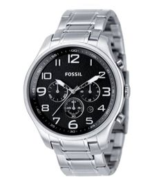This classic Fossil timepiece has a twist of fashion. Its versatility allows this timepiece to display its elegance whatever the occasion. From timeless classics to the latest fashions, Fossil is sure to have the timepiece that perfectly compliments your unique sense of style. Founded in 1984 when timepieces were created more for function than fashion, Fossil began to transform this notion with its unique combination of vintage 1950s Americana design and affordably accessible cool style…