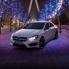 Just a glance shows that the CLA 45 AMG combines a unique style with typical AMG DNA to make it a perfect representative of the AMG's Driving Performance brand claim. #CLA45AMG http://www.mercedes-amg.com/webspecial/cla45