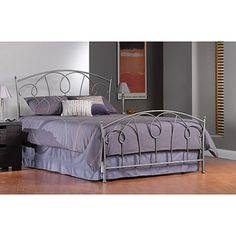 Carson Full Bed, Pewter  WM   likes alot