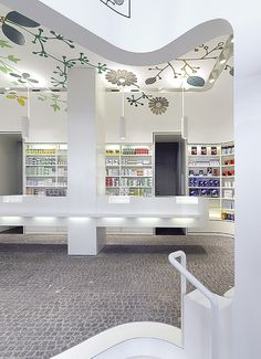 Pharmacy Design | Retail Design | Store Design | Pharmacy Shelving | Pharmacy Furniture |Linden-Apotheke« — Ippolito Fleitz Group