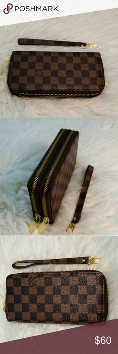 Wallet New inspired wallet high quality not box Louis Vuitton Accessories Belts