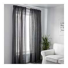 matilda sheer curtains 1 pair white ikea sheer curtains and curtains. Black Bedroom Furniture Sets. Home Design Ideas