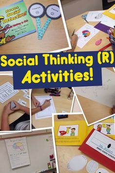 Tons of ideas for SLPs working with students on social thinking skills! Social skills can be hard to teach, but these activities are engaging, interactive, and perfect for your elementary caseload! Social Skills Autism, Social Skills Lessons, Social Skills Activities, Teaching Social Skills, Social Behavior, Speech Therapy Activities, Social Emotional Learning, Articulation Activities, Behavior Management