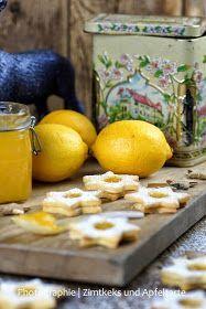 Spitzbuben mit Lemon-Curd