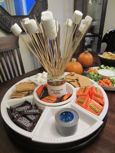 smore party ideas | cool Smores inspired ideas perfect for any party. Consider Smores ... #WeddingIdeasIndoor