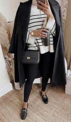 Look Casual Otoño, Casual Work Outfits, Mode Outfits, Classy Outfits, Casual Chic, Winter Fashion Outfits, Fall Winter Outfits, Look Fashion, Business Outfits