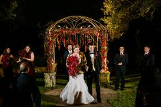Ceremony under the stars // Tank Goodness Photography